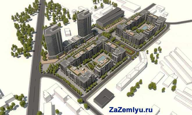 Проект-макет жилого комлекса