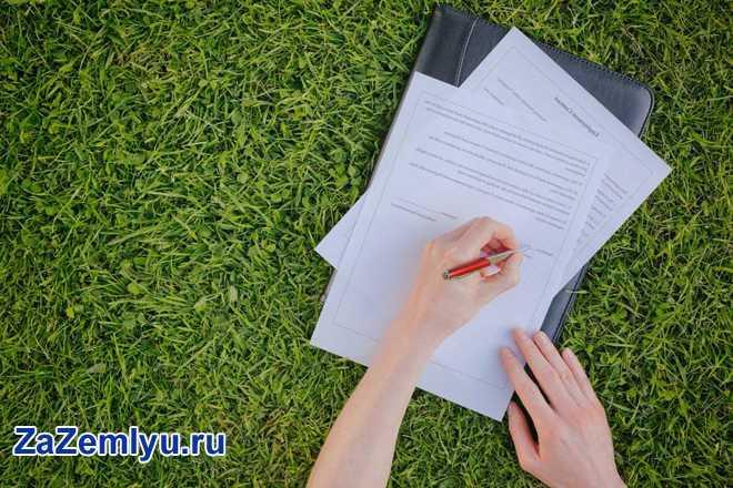 Девушка лежит на газоне и подписывает бумаги