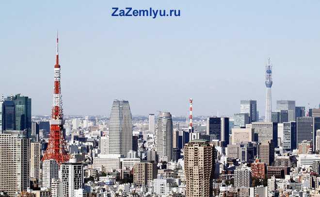Здания современного города