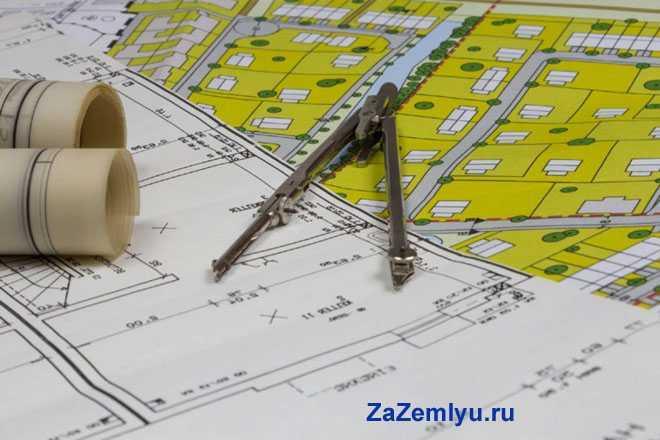 План земельного владения