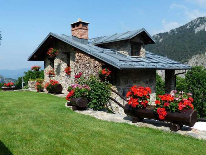 Дачный домик в стиле прованс