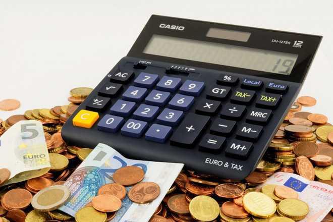 Калькулятор, денежные средства