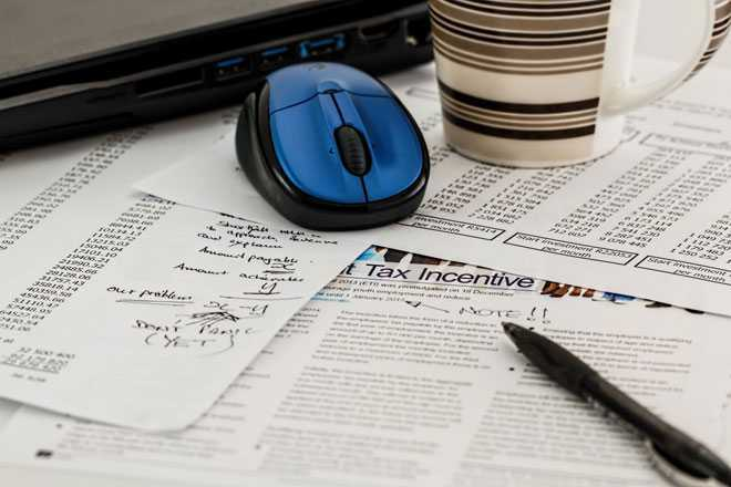 Листки, газета, компьютерная мышь
