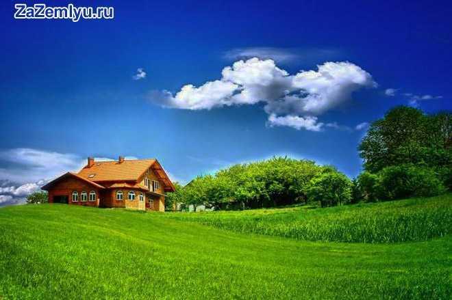 Частный дом на природе