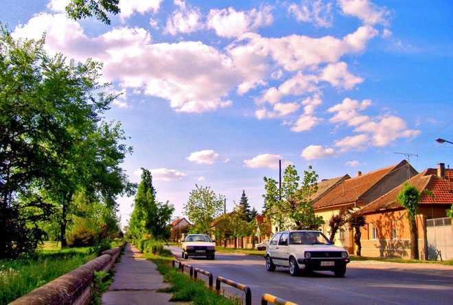 Проезжая часть, улица, автомобиль, дома
