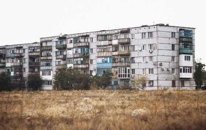 Пятиэтажка, жилой дом