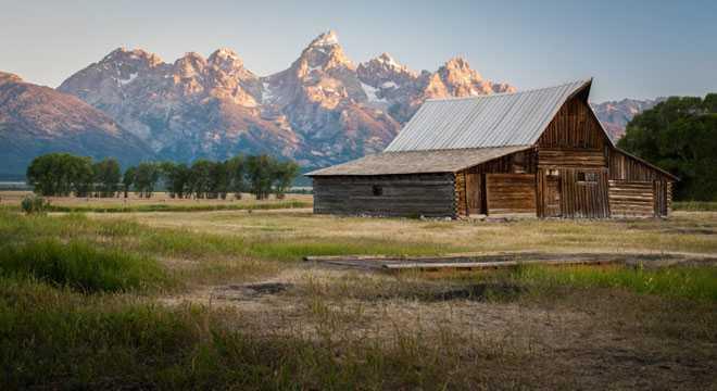 Дом в горной местности