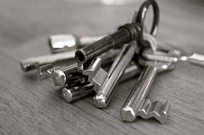 Связка ключей от квартиры